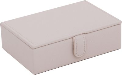 WOLF Brighton Travel Jewelry Box Cream - WOLF Packing Aids