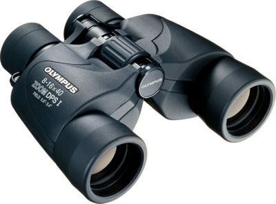 Olympus Trooper 8-16x40 Zoom DPS Binoculars Black - Olympus Portable Entertainment