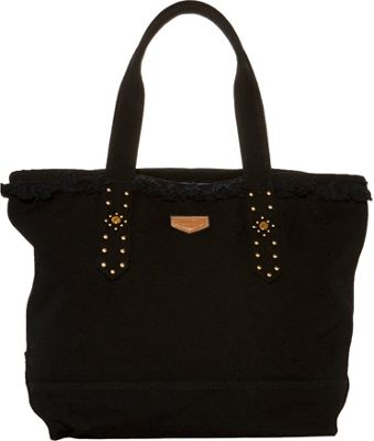 Aimee Kestenberg Handbags Cannes Tote Black - Aimee Kestenberg Handbags Fabric Handbags