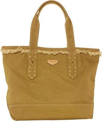 Aimee Kestenberg Handbags Cannes Tote Caramel - Aimee Kestenberg Handbags Fabric Handbags