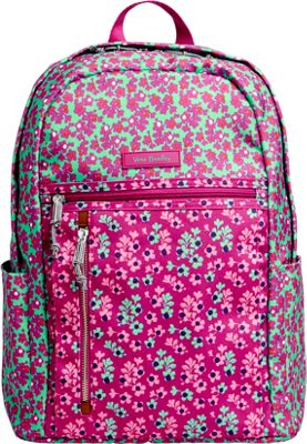 Vera Bradley Lighten Up Small Backpack Ditsy Dot - Vera Bradley School & Day Hiking Backpacks