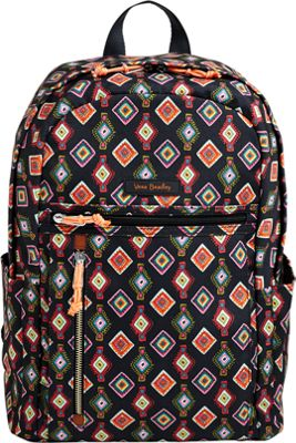 Vera Bradley Lighten Up Small Backpack Mini Medallions - Vera Bradley School & Day Hiking Backpacks