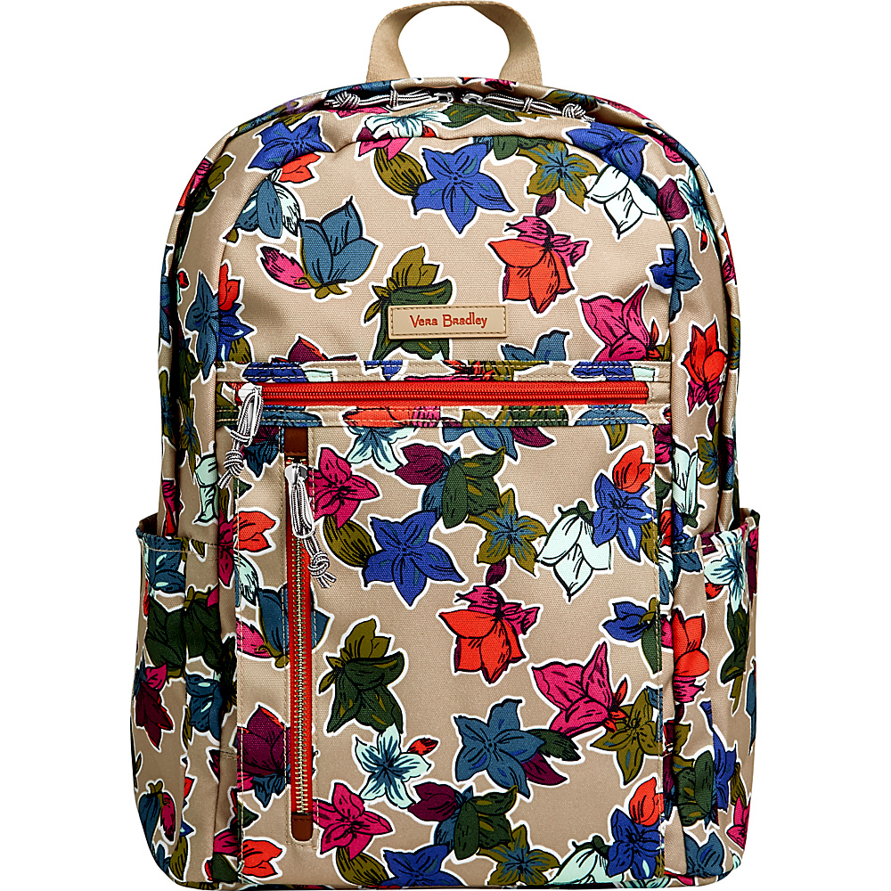 Vera Bradley Lighten Up Small Backpack Falling Flowers Neutral - Vera Bradley School & Day Hiking Backpacks - Backpacks, School & Day Hiking Backpacks