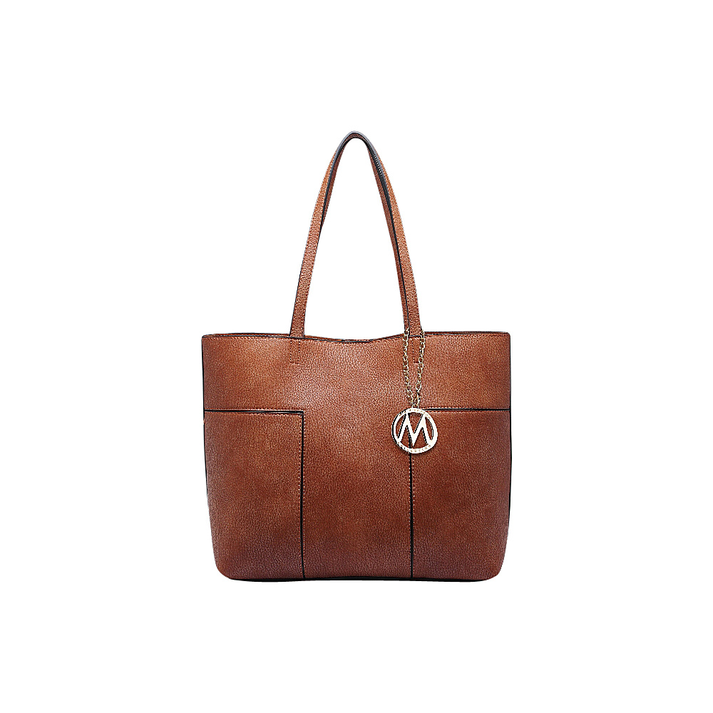 MKF Collection by Mia K. Farrow Sadie Tote Bag Brown - MKF Collection by Mia K. Farrow Manmade Handbags - Handbags, Manmade Handbags