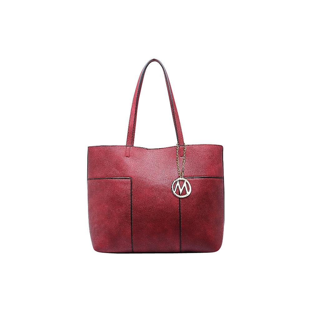 MKF Collection by Mia K. Farrow Sadie Tote Bag Red - MKF Collection by Mia K. Farrow Manmade Handbags - Handbags, Manmade Handbags