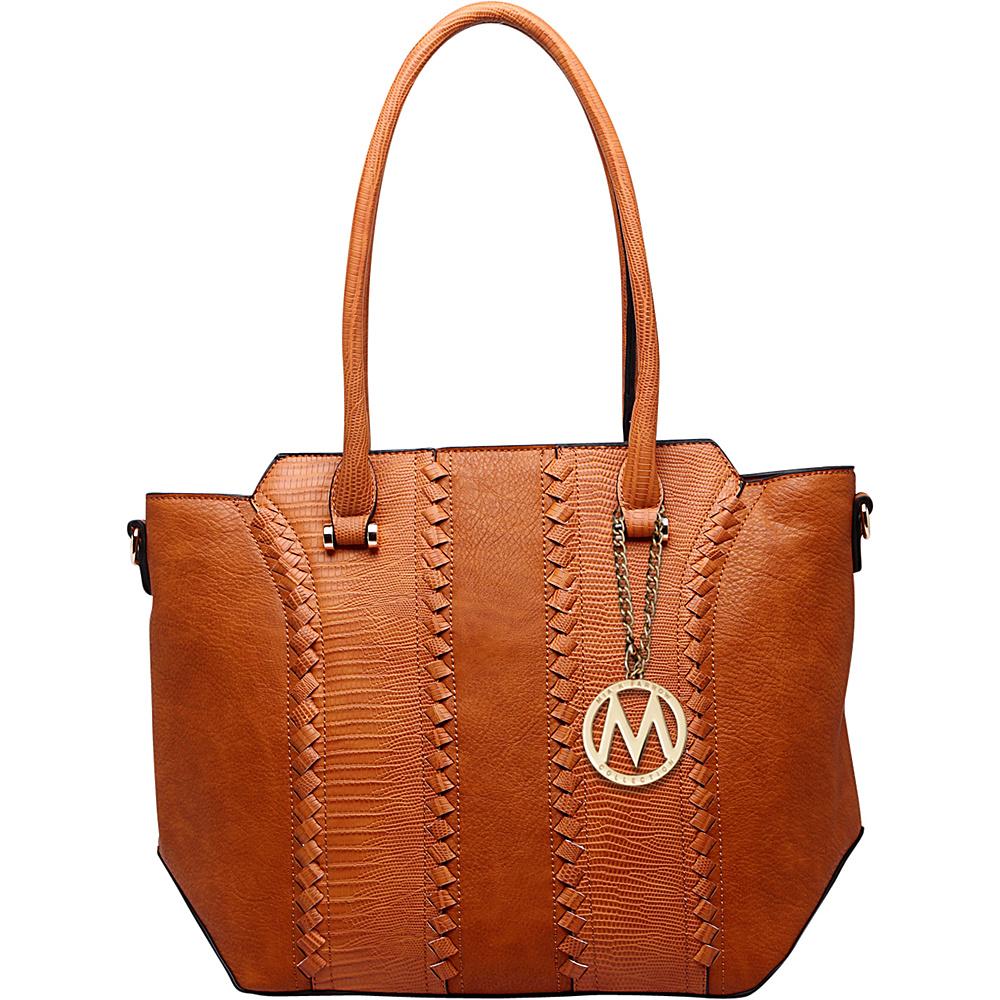 MKF Collection by Mia K. Farrow Pasadena Tote Bag Brown - MKF Collection by Mia K. Farrow Manmade Handbags - Handbags, Manmade Handbags