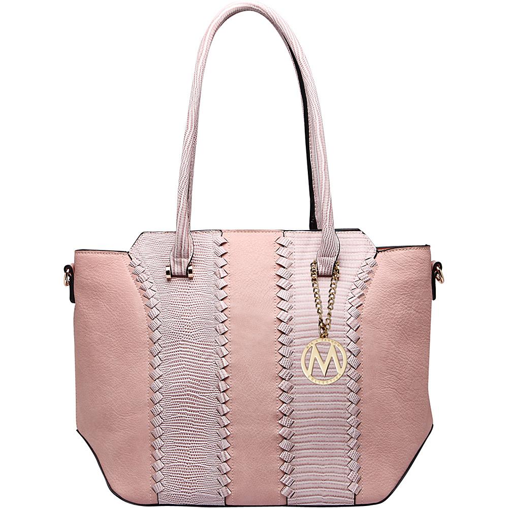 MKF Collection by Mia K. Farrow Pasadena Tote Bag Pink - MKF Collection by Mia K. Farrow Manmade Handbags - Handbags, Manmade Handbags