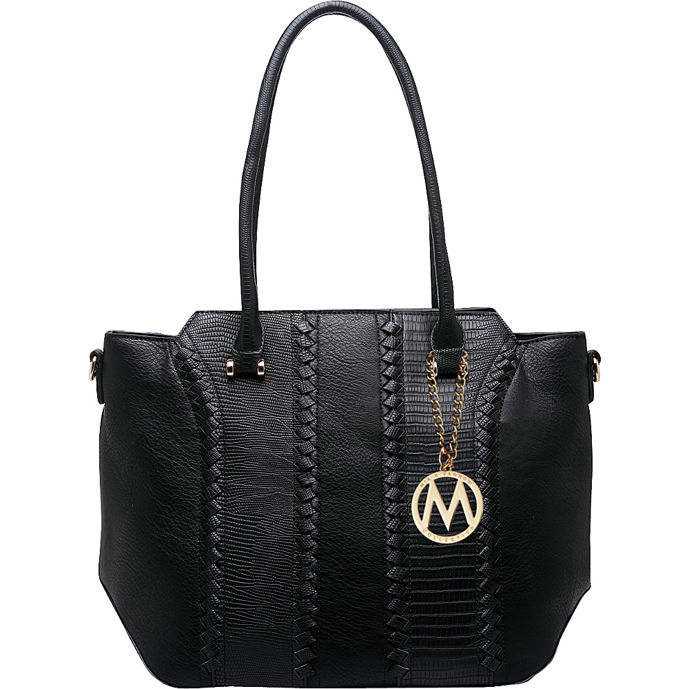 MKF Collection Pasadena Tote Bag Black - MKF Collection Manmade Handbags - Handbags, Manmade Handbags