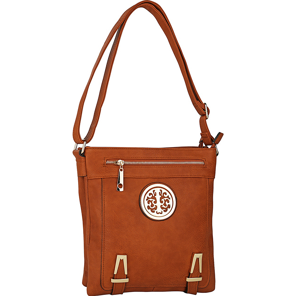 MKF Collection Lean Crossbody Brown - MKF Collection Manmade Handbags - Handbags, Manmade Handbags