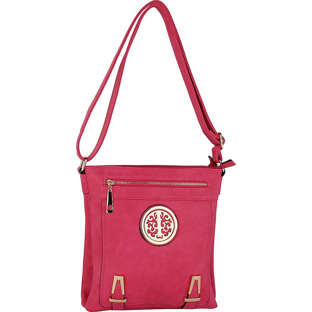 MKF Collection by Mia K. Farrow Lean Crossbody Rose - MKF Collection by Mia K. Farrow Manmade Handbags - Handbags, Manmade Handbags
