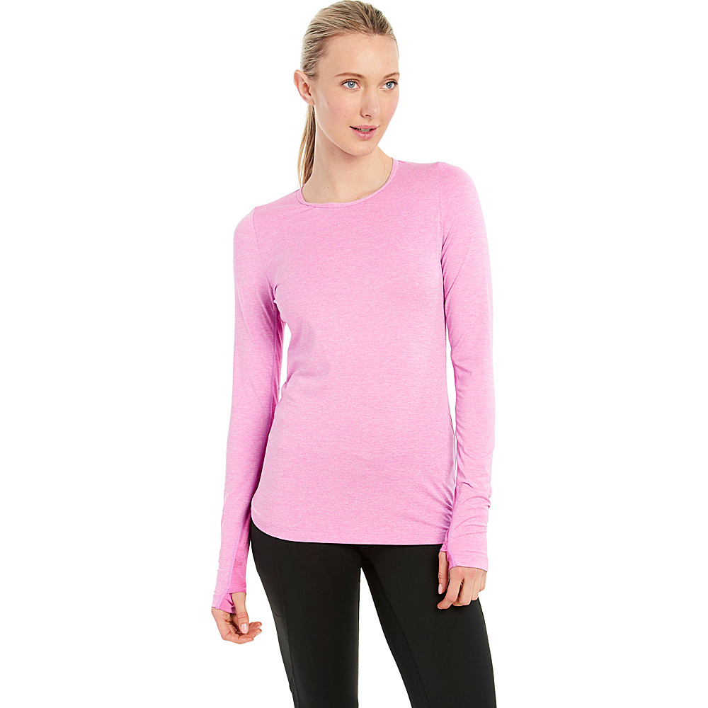 Lole Agnessa Top XS - Spring Crocus Heather - Lole Womens Apparel - Apparel & Footwear, Women's Apparel