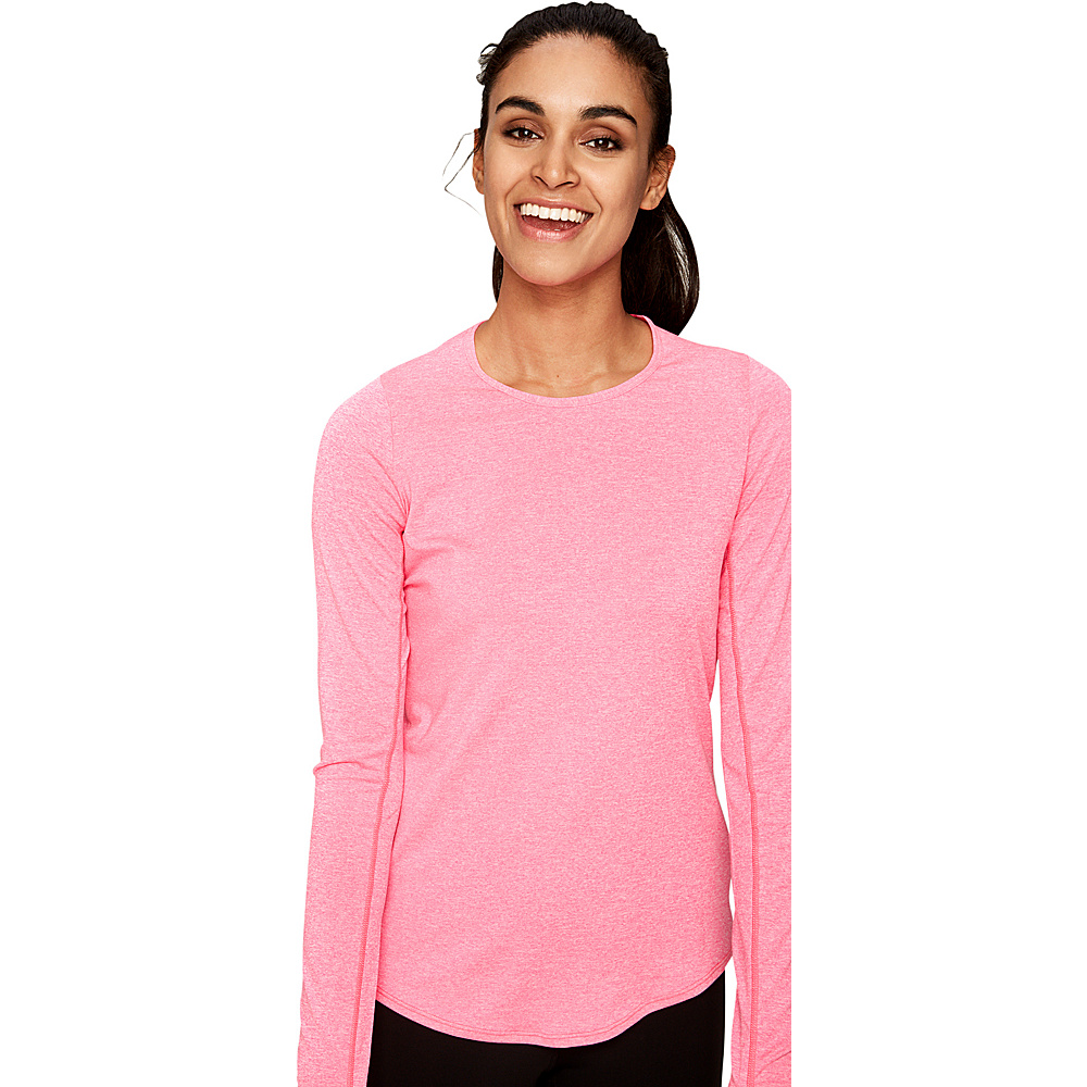Lole Agnessa Top S - Hot Pink Heather - Lole Womens Apparel - Apparel & Footwear, Women's Apparel