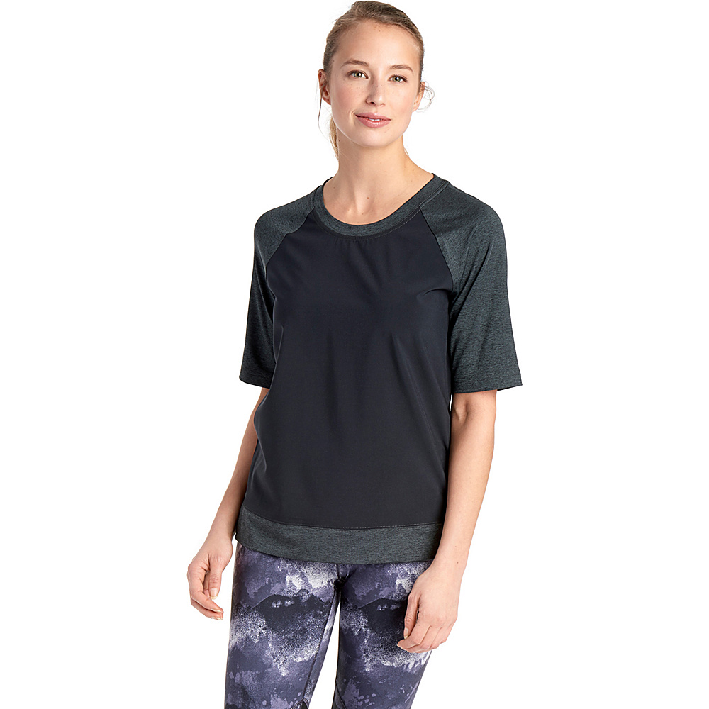 Lole Zaida Top XS - Black - Lole Womens Apparel - Apparel & Footwear, Women's Apparel