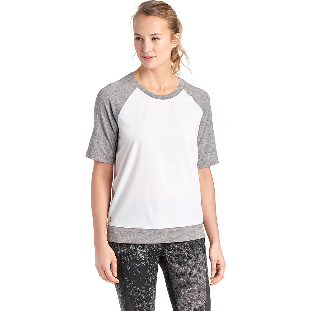 Lole Zaida Top S - White - Lole Womens Apparel - Apparel & Footwear, Women's Apparel
