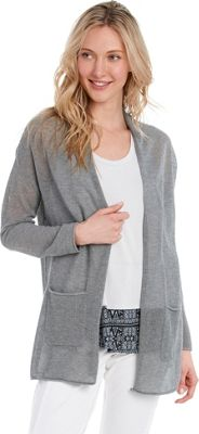 Lole Marnie Cardigan XS - Medium Grey Heather - Lole Women's Apparel