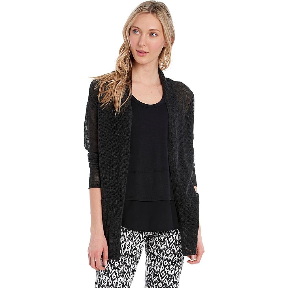 Lole Marnie Cardigan XS - Black Heather - Lole Womens Apparel - Apparel & Footwear, Women's Apparel