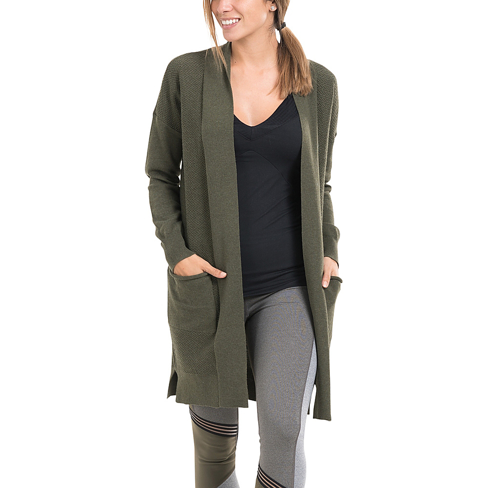 Lole Marnie Cardigan XS - Mount Royal Heather - Lole Womens Apparel - Apparel & Footwear, Women's Apparel