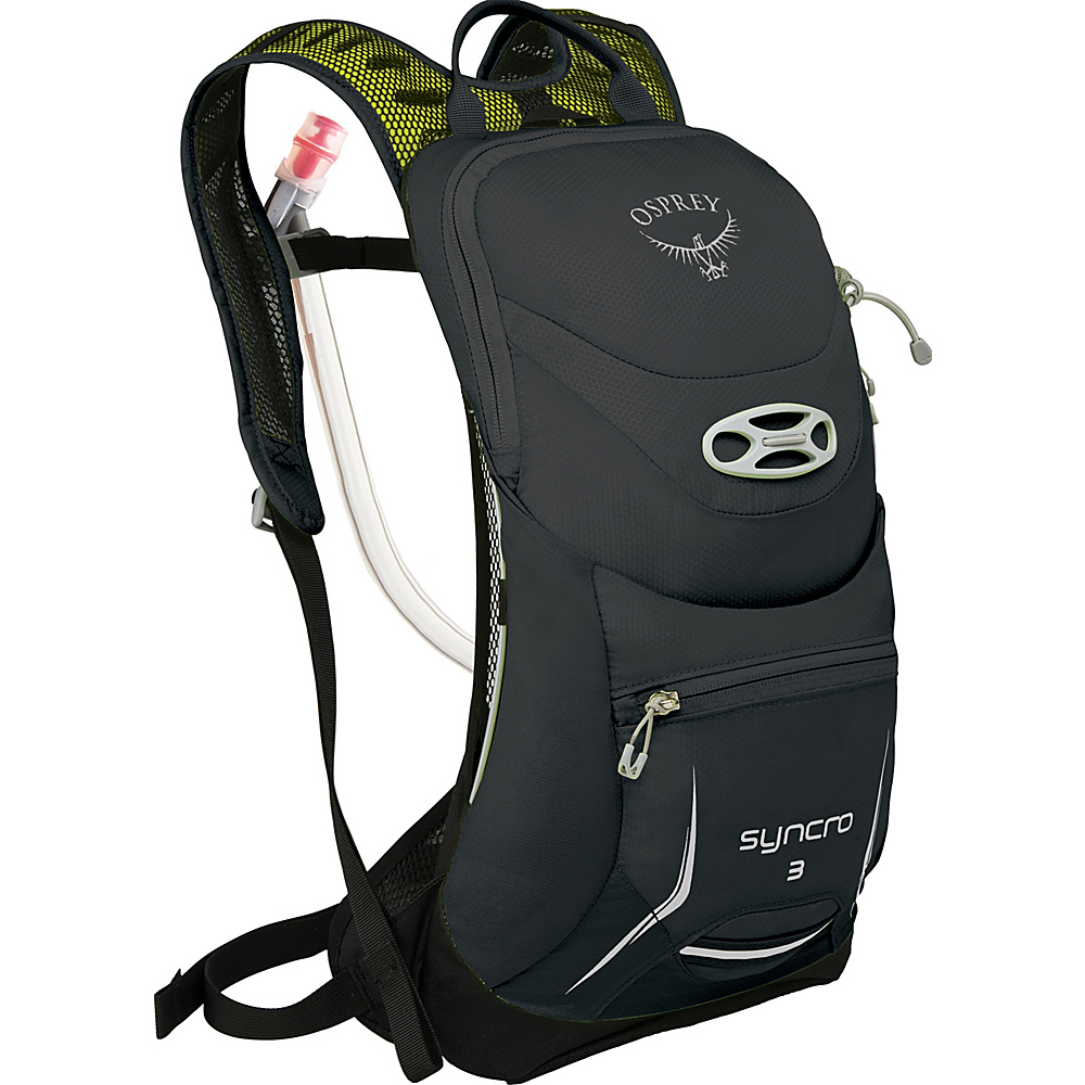 Osprey Syncro 3 Hydration Pack Meteorite Grey - S/M - Osprey Hydration Packs - Backpacks, Hydration Packs