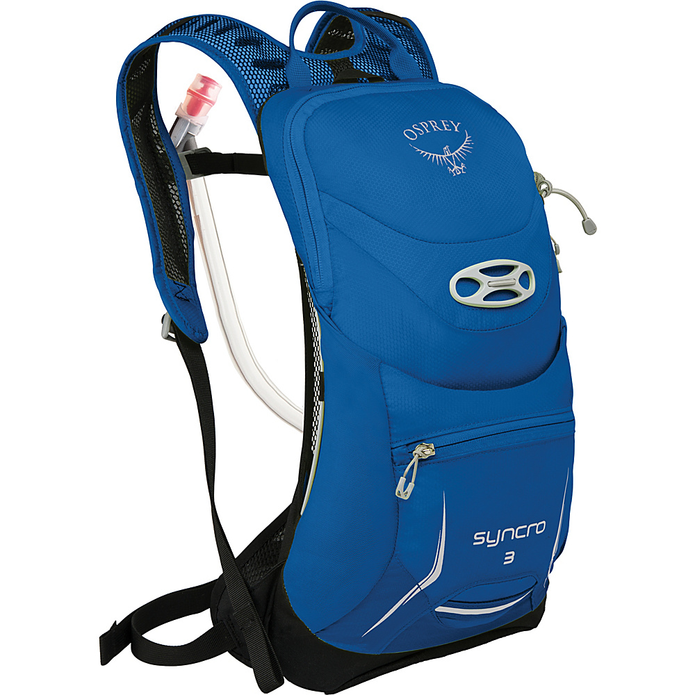 Osprey Syncro 3 Hydration Pack Blue Racer - S/M - Osprey Hydration Packs - Backpacks, Hydration Packs