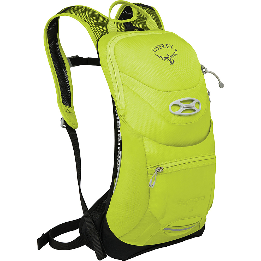 Osprey Syncro 3 Hydration Pack Velocity Green - S/M - Osprey Hydration Packs - Backpacks, Hydration Packs