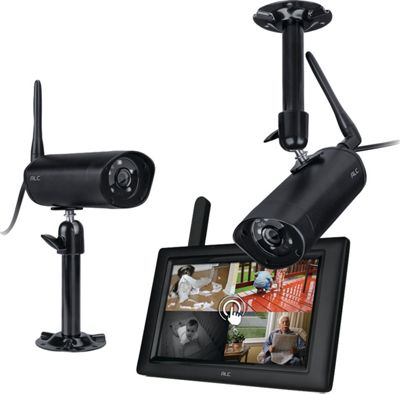 ACL 7 inch Monitor with 2 Cameras System Black - ACL Smart Home Automation
