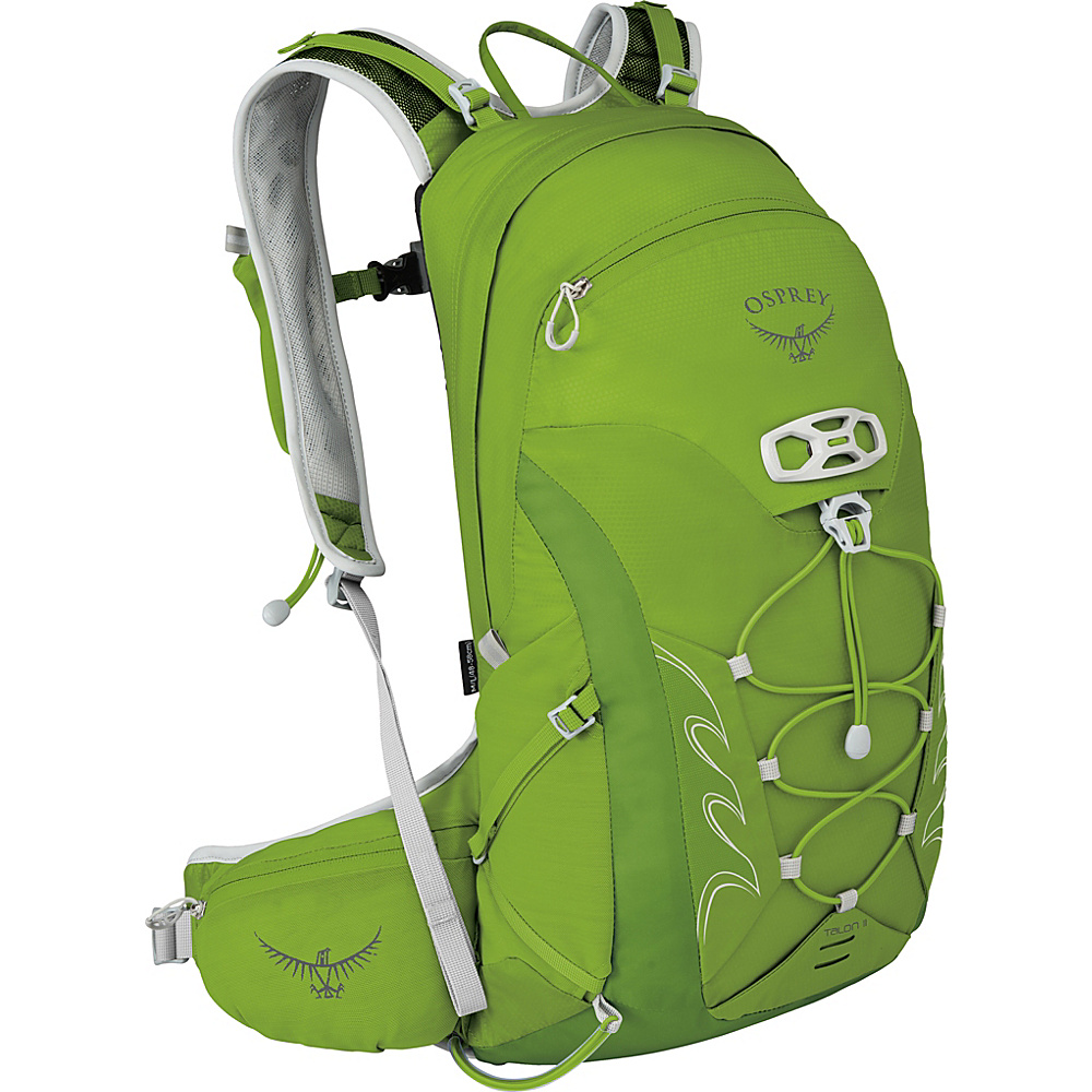 Osprey Talon 11 Hiking Pack Spring Green – M/L - Osprey Day Hiking Backpacks - Outdoor, Day Hiking Backpacks