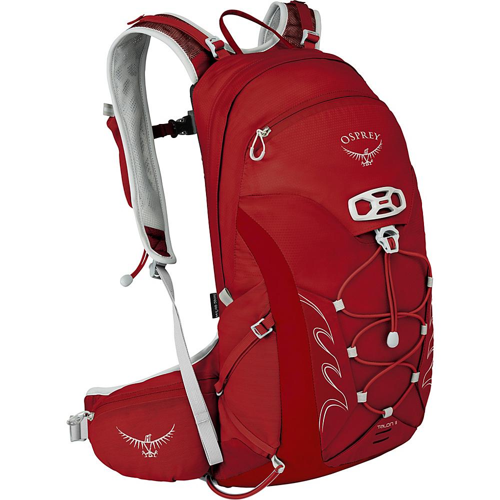 Osprey Talon 11 Hiking Pack Martian Red – M/L - Osprey Day Hiking Backpacks - Outdoor, Day Hiking Backpacks