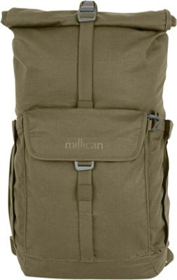 Millican Smith The Roll Pack 25L Moss - Millican Business & Laptop Backpacks