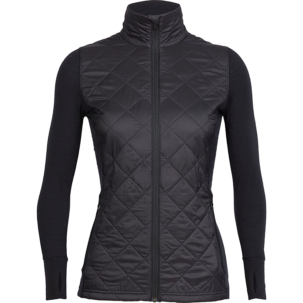 Icebreaker Womens Ellipse Jacket S - Black - Icebreaker Womens Apparel - Apparel & Footwear, Women's Apparel