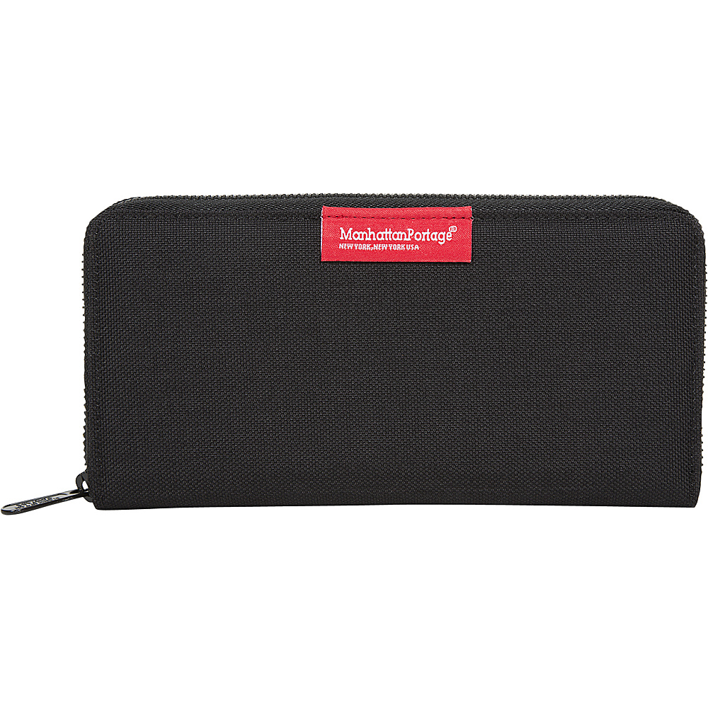Manhattan Portage John Wallet Black - Manhattan Portage Mens Wallets - Work Bags & Briefcases, Men's Wallets
