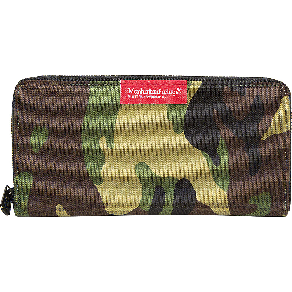 Manhattan Portage John Wallet Camo - Manhattan Portage Mens Wallets - Work Bags & Briefcases, Men's Wallets