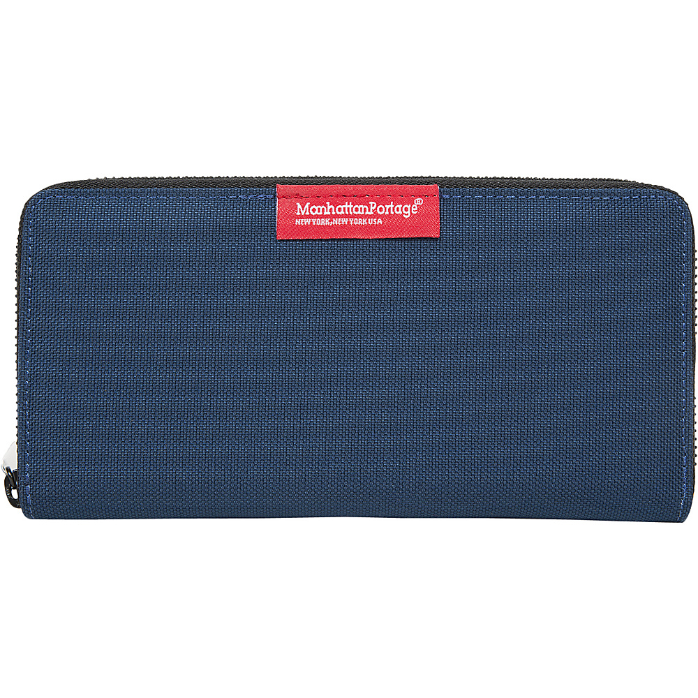 Manhattan Portage John Wallet Navy - Manhattan Portage Mens Wallets - Work Bags & Briefcases, Men's Wallets