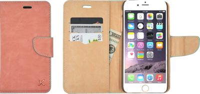 Candywirez Case Study Wallet for iPhone 6S Pale Pink - Candywirez Electronic Cases