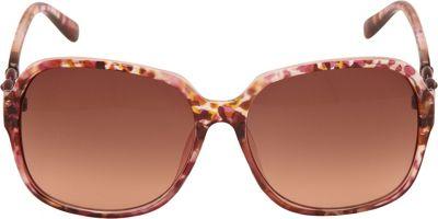 Unionbay Eyewear Oversized Square Plastic Sunglasses Animal Nude - Unionbay Eyewear Eyewear