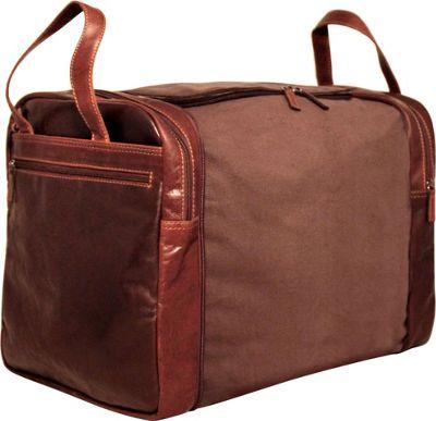 Jack Georges Voyager Convertible Crossbody/Duffle Bag Brown - Jack Georges Messenger Bags