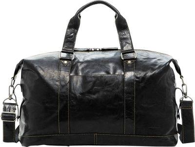 Jack Georges Voyager Duffle Bag Black - Jack Georges Travel Duffels