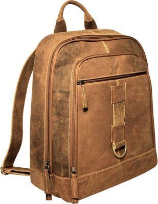 Jack Georges Arizona Backpack Brown - Jack Georges Laptop Backpacks