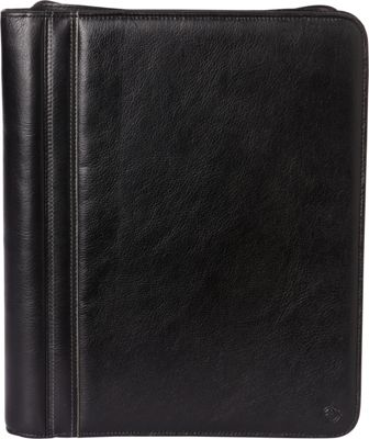 Franklin Covey Monarch Size Secure Zip-Around 3-Ring Binder / Agenda Black - Franklin Covey Business Accessories