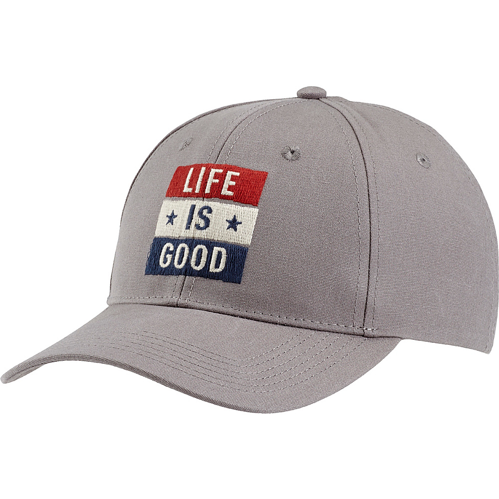 Life is good High Rise Chill LIG Flag One Size - Slate Gray - Life is good Hats - Fashion Accessories, Hats