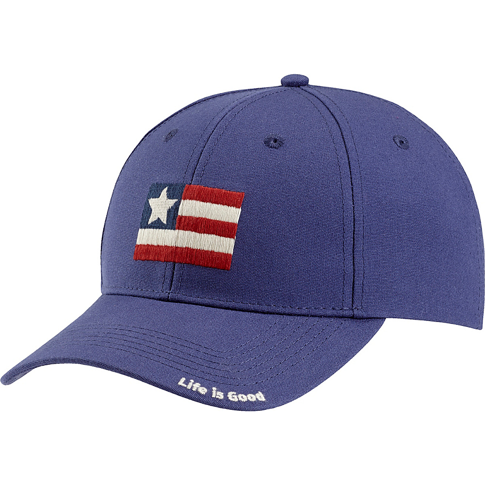 Life is good High Rise Chill LIG Flag One Size - Darkest Blue - Life is good Hats - Fashion Accessories, Hats