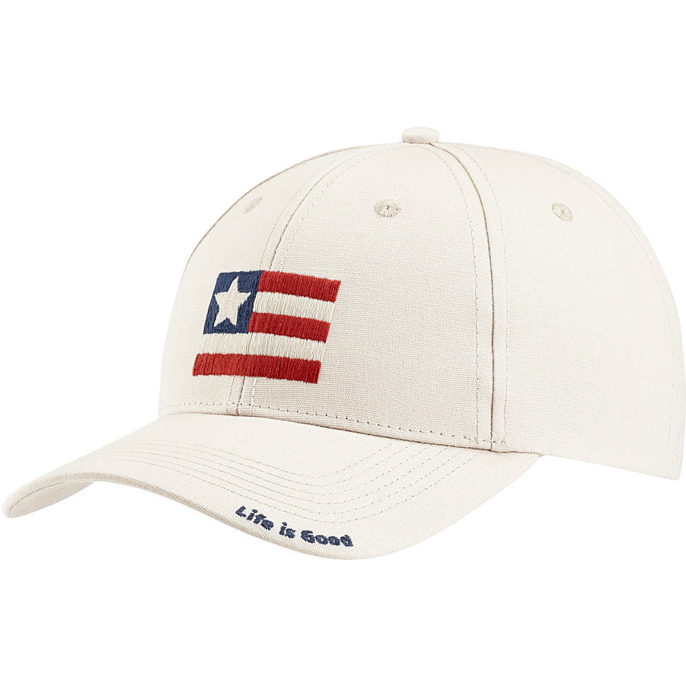 Life is good High Rise Chill LIG Flag One Size - Bone - Life is good Hats - Fashion Accessories, Hats