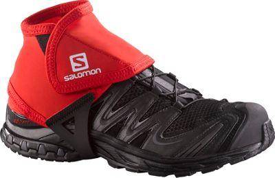 Salomon Trail Gaiters Low Bright Red - Salomon Sports Accessories