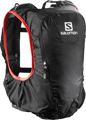 Salomon Skin Pro 10 Set Black/Matador - Salomon Hydration Packs