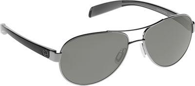 Native Eyewear Haskill Sunglasses Chrome/Gloss Black with Polarized Gray - Native Eyewear Eyewear