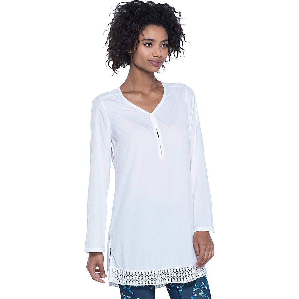 Toad & Co Sunlight Tunic M - White - Toad & Co Womens Apparel - Apparel & Footwear, Women's Apparel