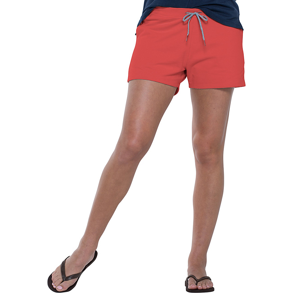 Toad & Co Overchill Short S - 3in - Red Clay - Toad & Co Womens Apparel - Apparel & Footwear, Women's Apparel