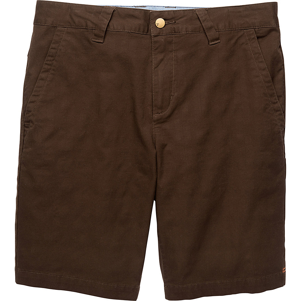 Toad & Co Swerve Short 10.5 Inch 30 - Dark Roast - Toad & Co Mens Apparel - Apparel & Footwear, Men's Apparel