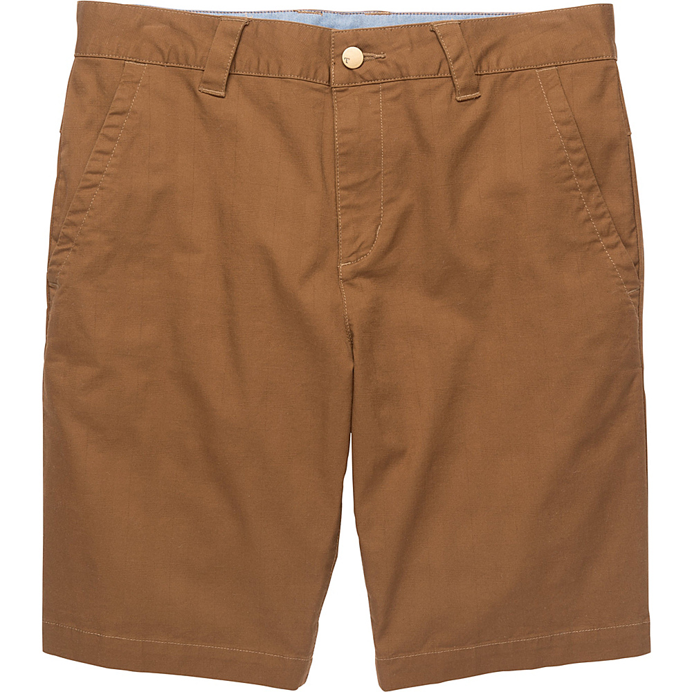 Toad & Co Swerve Short 10.5 Inch 31 - Seal Brown - Toad & Co Mens Apparel - Apparel & Footwear, Men's Apparel