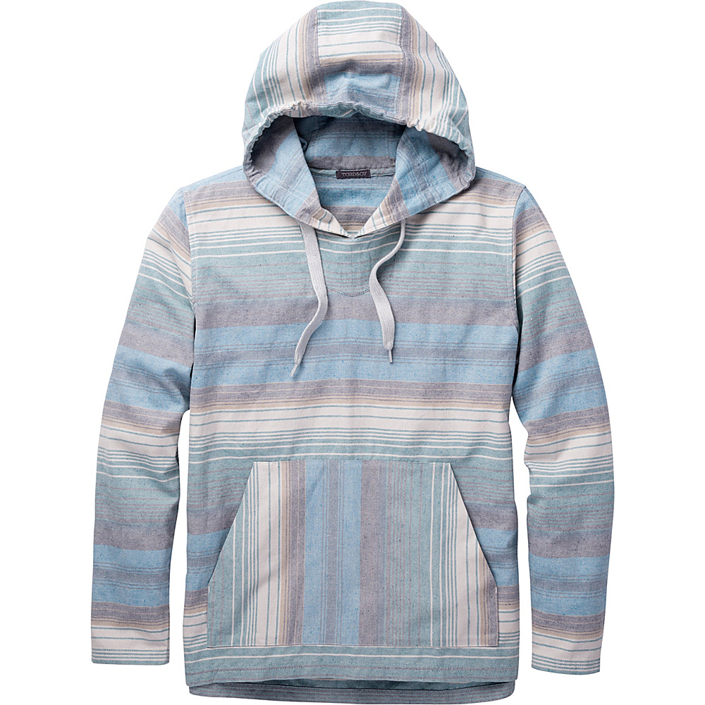 Toad & Co Loreto Hoodie M - Seasport Stripe - Toad & Co Mens Apparel - Apparel & Footwear, Men's Apparel