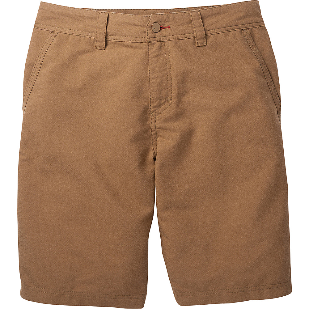 Toad & Co Kerouac Short 34 - Seal Brown - Toad & Co Mens Apparel - Apparel & Footwear, Men's Apparel